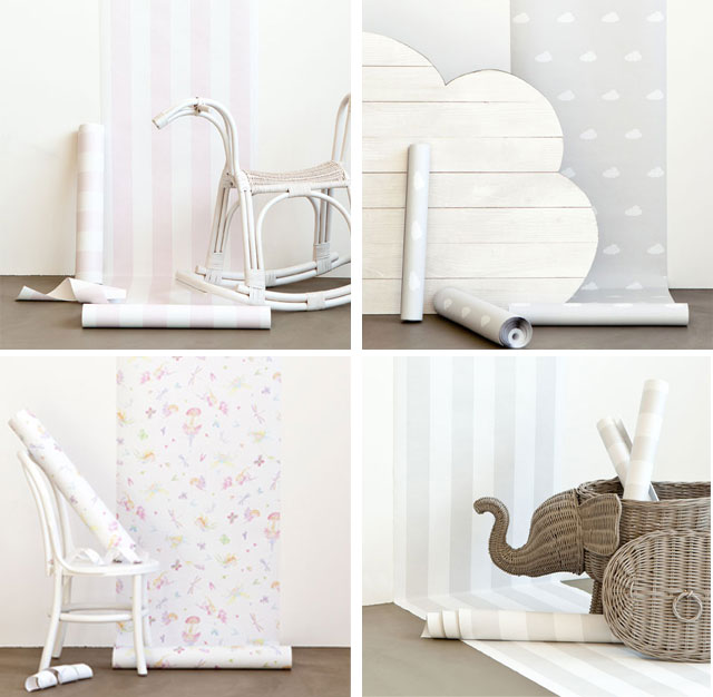Tapete f rs babyzimmer by zara home kids kindertage for Tapete babyzimmer