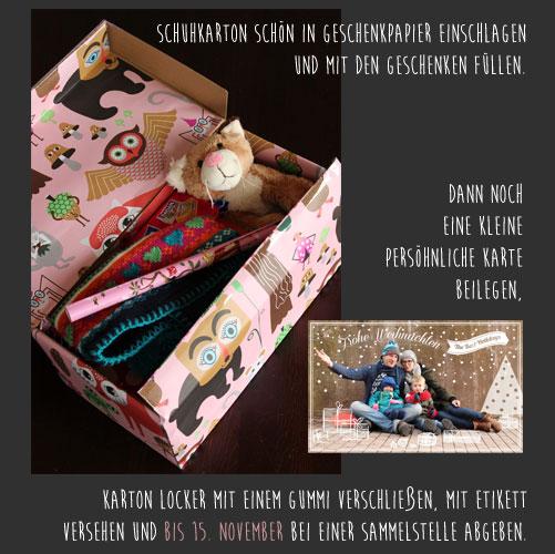 weihnachten im schuhkarton eine tolle aktion f r kinder. Black Bedroom Furniture Sets. Home Design Ideas