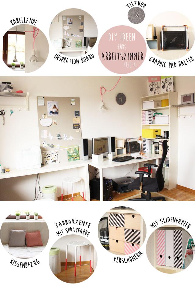 Ideen Für Arbeitszimmer diy ideen fürs arbeitszimmer teil 4 das finale mehr diy s ein